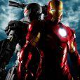 Des images d' Iron Man 2 .