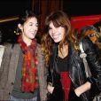 Lou Doillon et Charlotte Gainsbourg, filles de Jane Birkin