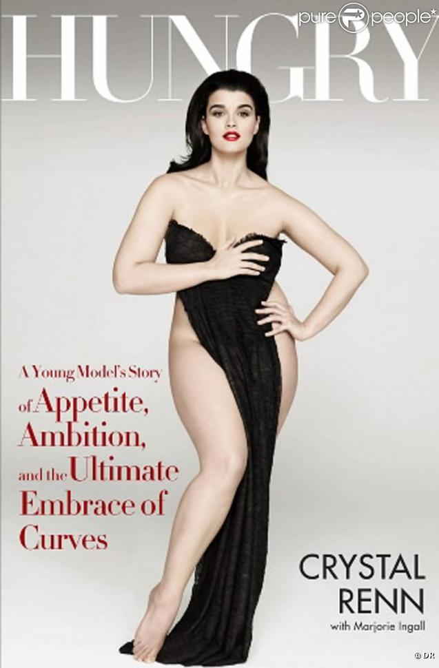 Crystal Renn en couverture de magazine