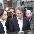 Stéphane Delajoux, chirurgien de Johnny Hallyday, agressé le 11 décembre dernier.