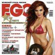 La ravissante Anna Sedokova en couverture de  EGO .