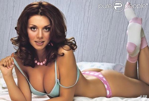 La ravissante Anna Sedokova pour une pub de lingerie...