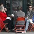 Kate Walsh accompagnée de ses parents et son boyfriend Neil Andrea, le 27 décembre à Los Angeles. C'est l'amour fou !