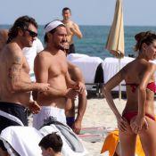 Melissa Satta : La sublime compagne de Christian Vieri dévoile son physique torride sur le sable de Miami...