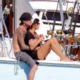 Tommy Lee en vacances à Mexico avec sa chérie (21 décembre 2009)