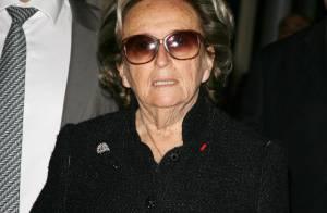 Bernadette Chirac évoque très émue, la mise en examen de Jacques :
