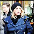 Blake Lively sur le tournage de Gossip Girl, le 7 janvier 2009 à New York