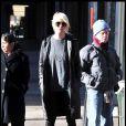 Taylor Momsen sur le tournage de Gossip Girl, le 7 janvier 2009 à New York