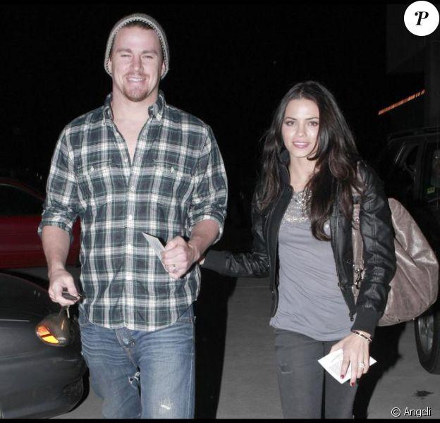 Channing Tatum et sa femme Jenna Dewan sont allés voir Nine au cinéma à Hollywood le 2 janvier 2010