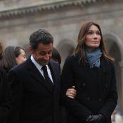 Carla Bruni : Une présence digne et effacée aux funérailles de Philippe Séguin...