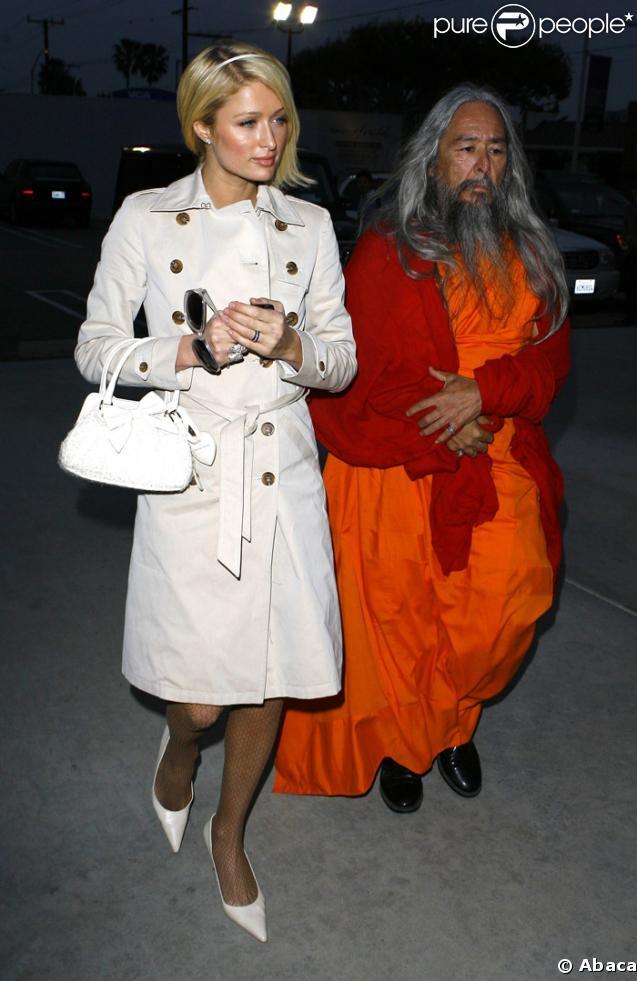 Paris Hilton et son moine Bouddhiste personnel