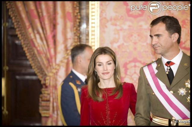 Le prince Felipe d'Espagne et Letizia héritent de plusieurs millions d'euros, le 15 janvier 2010 !