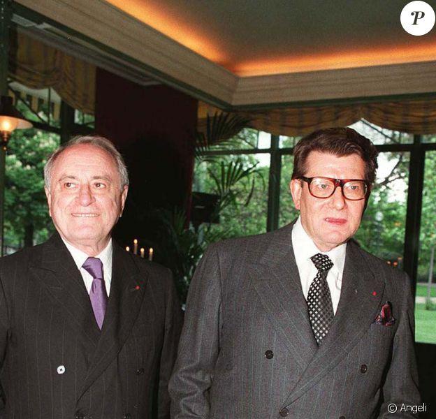 Yves Saint-Laurent et Pierre Bergé en 1996 !