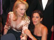 Meryl Streep et Sandra Bullock : Elles se battent et se font... un gros bisou sur la bouche !