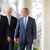 Barack Obama a besoin de... George W. Bush et Bill Clinton !