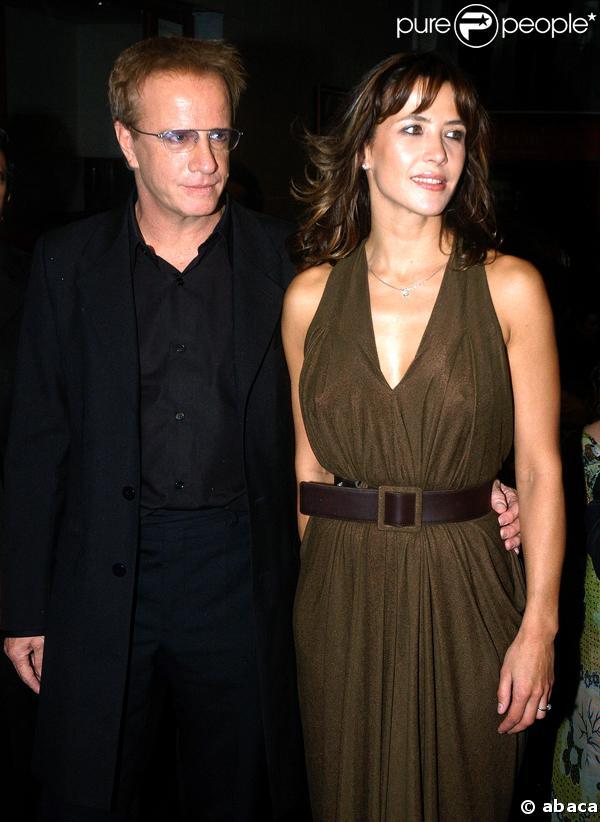 Sophie Marceau et son compagnon l'acteur Christophe Lambert