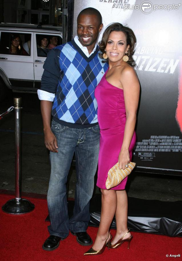 Sean Patrick Thomas et sa femme Aonika Laurent