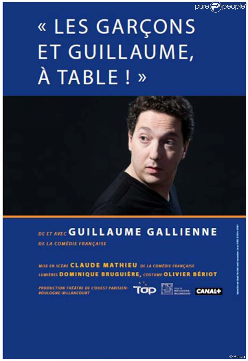 Les gar ons et guillaume table au th tre de l - Guillaume et les garcons a table trailer ...