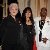 Bernadette Lafont et Firmine Richard décorées... en présence de Marisa Berenson et Brigitte Fossey !