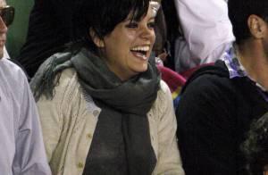 Lily Allen et son chéri... totalement fans de notre Jo-Wilfried Tsonga !