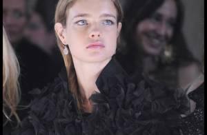 Natalia Vodianova, Andrea Dellal, toutes folles des robes exquises venues d'Italie...