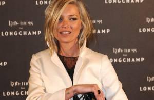 La divine Kate Moss a fait la fête toute la nuit... avec Vahina Giocante, Delphine Chanéac et José Garcia !