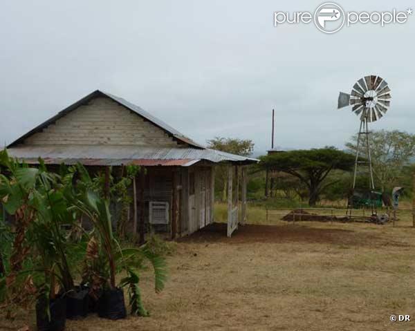 La ferme 1 avec le toit en t le for Toit de tole