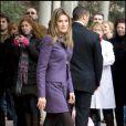 Dans le domaine businesswoman toujous tendance, la princesse Letizia d'Espagne excelle. La preuve avec ce tailleur violet des plus flatteurs.