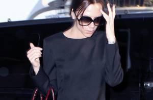 Victoria Beckham : Quand elle renfile ses talons pour la télé, elle embarque aussi... son sac hors de prix !