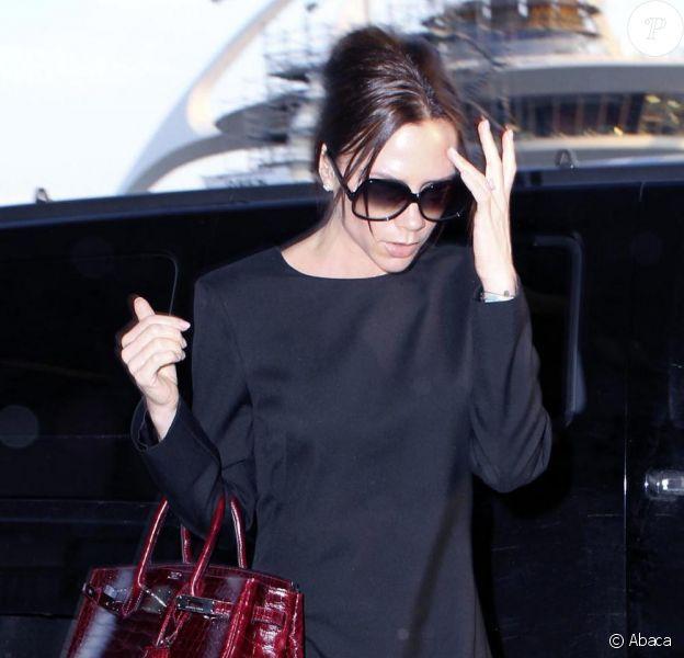 Victoria Beckham à Los Angeles le 2 février 2010