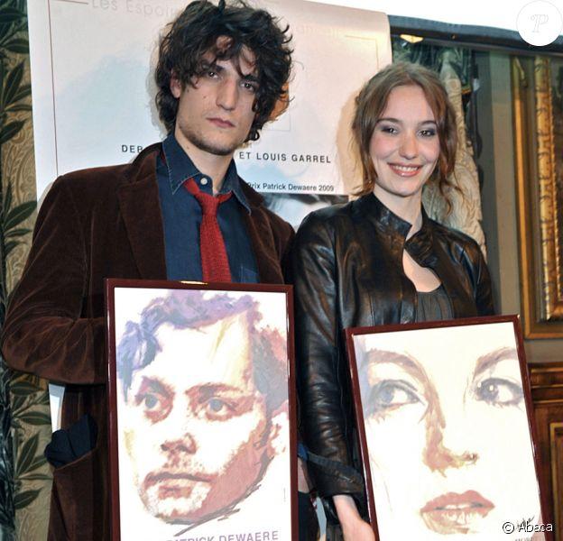 Louis Garrel et Déborah François, détenteurs des prix Patrick Dewaere et Romy Schneider en 2009