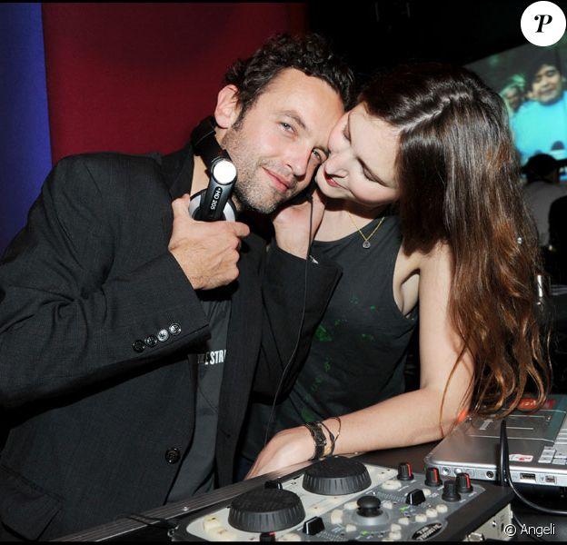 Patrick Mille et Justine Levy mixent pour la soirée Lucky Star au Murano le 4 février 2010