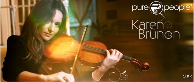 Karen Brunon et son violon sortent de l'ombre sur MyMajorCompany