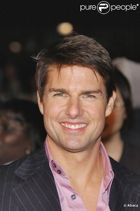 Tom Cruise en mai 2006 lors de la sortie de Mission : Impossible III