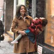 Katie Holmes et l'adorable Suri Cruise : Balade enjouée et sourires enneigés !