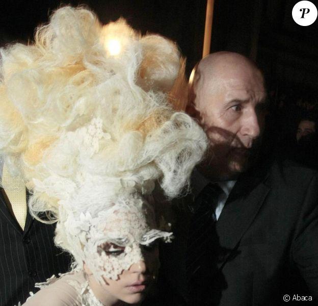 Lady Gaga à l'afterparty des Brit Awards. 17/02/2010