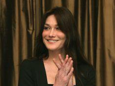 My god ! Ces photos de Carla Sarkozy seront publiées par GQ lors du voyage du couple présidentiel en Angleterre...