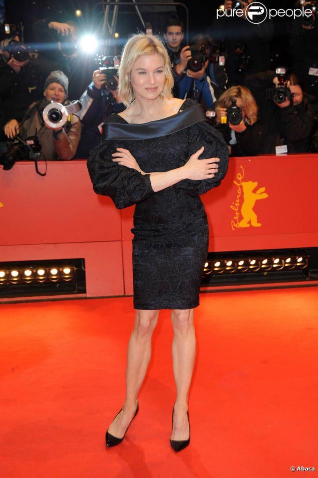 Renée Zellweger, samedi 20 février, lors de la soirée de remise de récompenses du festival du film international de Berlin.
