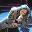 Jennifer Lopez au festival musical de San Remo, en Italie. 20/02/2010