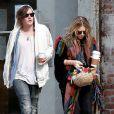 Mary-Kate Olsen et son boyfriend Nate Lowman au temps de l'amour en octobre 2009 à New York