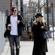 Mary-Kate Olsen et son boyfriend Nate Lowman au temps de l'amour en novembre 2009 à New York