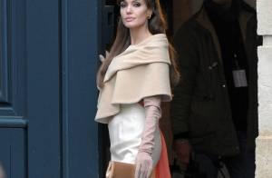 Angelina Jolie : son aventure parisienne a pris fin... elle en a bien profité avec son amoureux et ses amours d'enfants !
