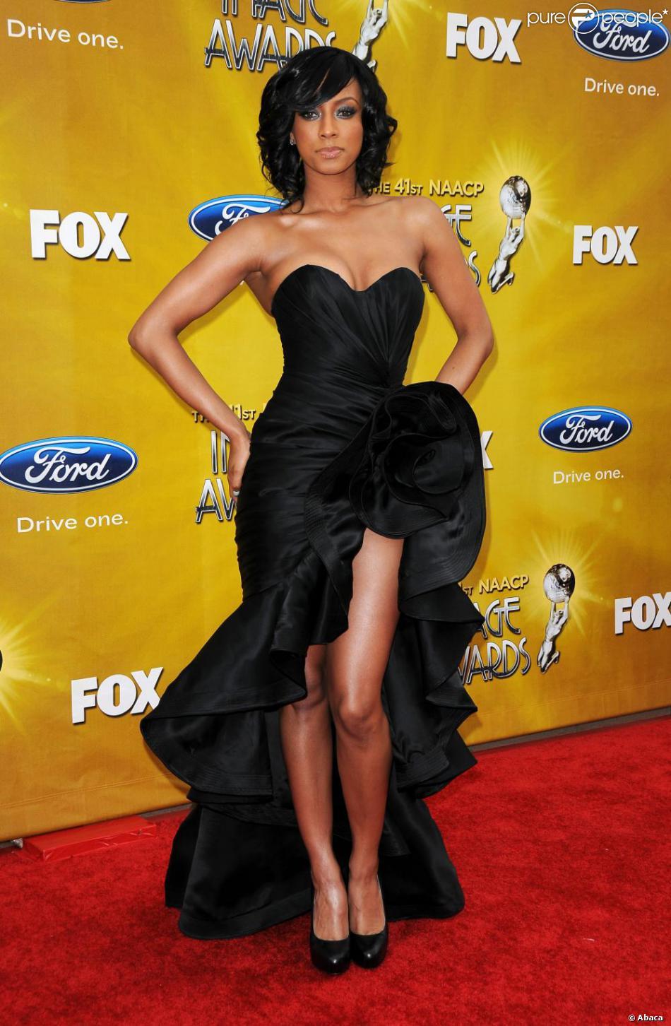Tremendous Keri Hilson A La 41Eme Remise De Prix Des Naacp Awards Short Hairstyles For Black Women Fulllsitofus