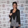 La belle Elisabetta Canalis toujours aussi élégante lors de la soirée Roberto Cavalli à Milan à l'occasion de la Fashion Week le 28 février 2010