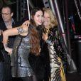 Benedetta Mazzini et Marta Marzotto lors de la soirée Roberto Cavalli à Milan à l'occasion de la Fashion Week le 28 février 2010