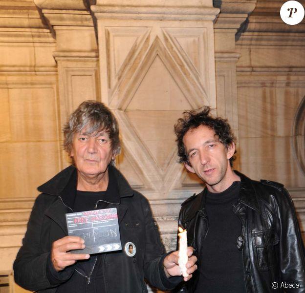 Jacques Higelin et Arthur H soutiennent Aung San Suu Kyi, à Paris, le 7 octobre 2009 !