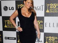 Mariah Carey : ses formes et son décolleté généreux ont passé la soirée... avec les frenchies Tahar Rahim et Déborah François !