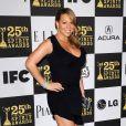 Mariah Carey aux 25e Film Independant Spirit Awards, le 5/03/2010, à Los Angeles.