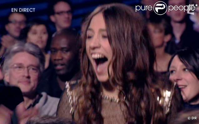 La chanteuse Izia, fille du talentueux Jacques Higelin, remporte le trophée de l'Album rock.