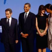 Quand Nicolas et Carla Sarkozy dînent avec... Barack et Michelle Obama !